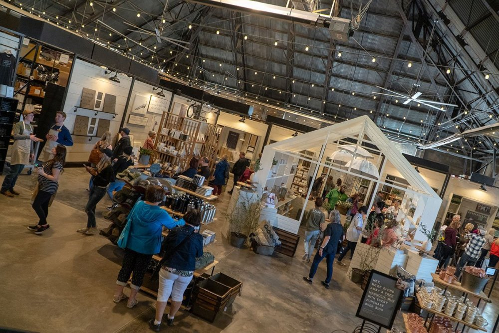 Visiting Magnolia Market: Inside the market shop