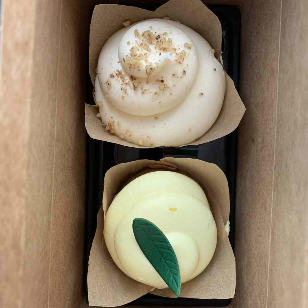 Visiting Magnolia Market: Lemon Lavender and Nuts and Bolts cupcakes