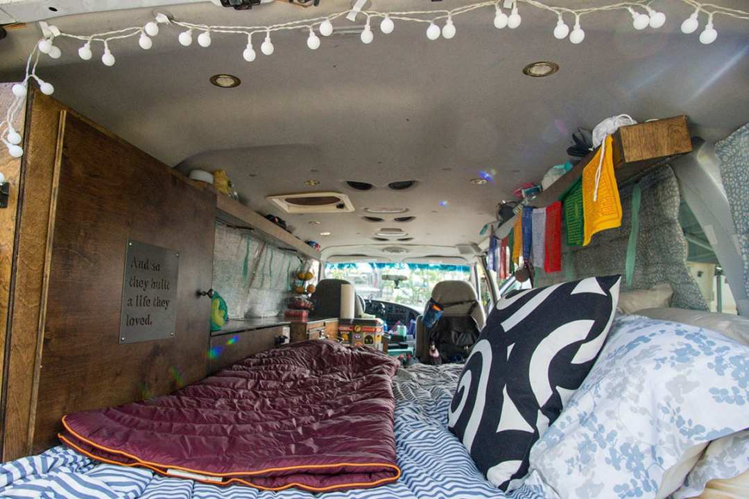 How to Make Your Van Feel Like Home: Bedroom
