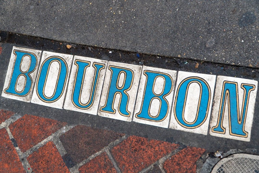 Guide to New Orleans: Bourbon Street Tiles