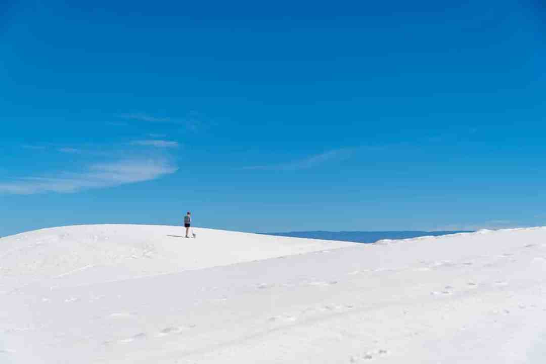 Visiting White Sands: Hiking the Dunes