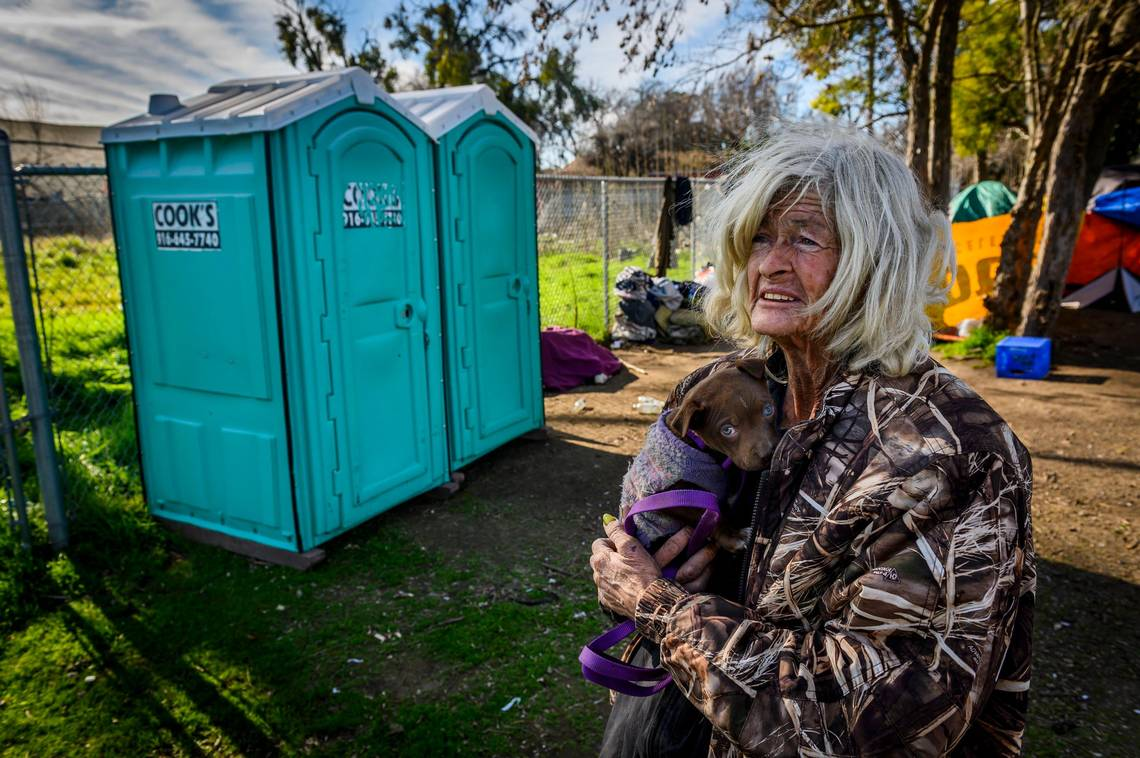 After months of complaints, Cupertino homeless camp to get a bathroom