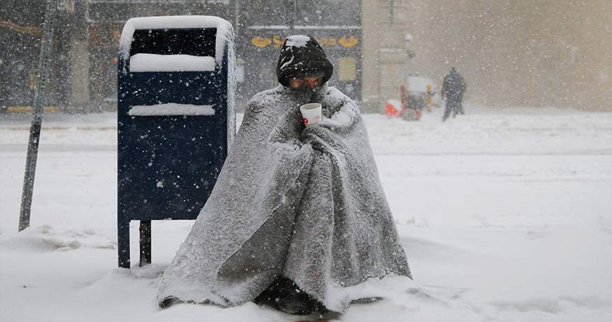 An Especially Cold Winter Lies Ahead For NYC's Homeless