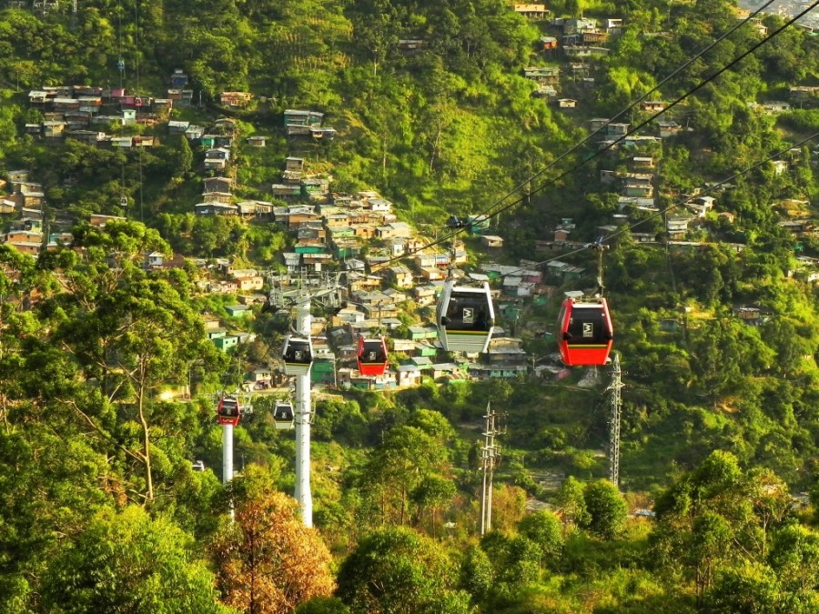 cable car Medellin Colombia