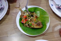 Ikan Bawal Bakar Rica-rica