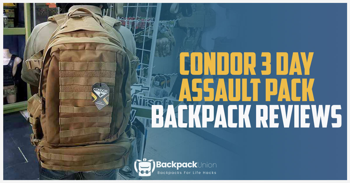 Condor-3-Day-Assault-Pack-Review