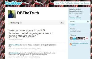 Darren Bent v Andy Burton in a Twitter challenge
