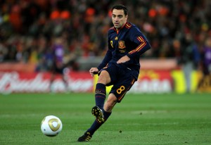 Xavi's limited left-foot helps to make him brilliant and forms his legacy