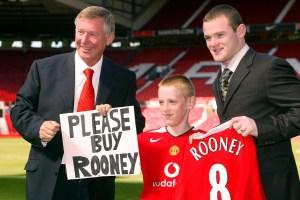 Why Alex Ferguson needs to bite his lip, and save Wayne Rooney