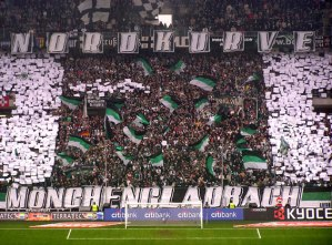 Borussia Monchengladbach giving 110 percent