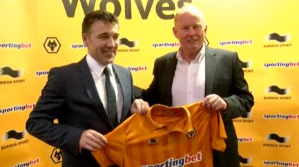 Dean Saunders becomes Wolves manager -video