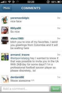 Ex-Arsenal Armand Traore sends a pornstar a proposition