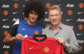 Fellaini Moyes