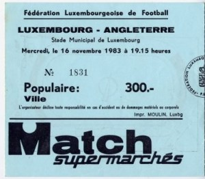 Luxembourg-England 1983