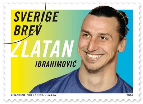 Zlatan stamp