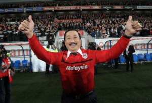 Cardiff City owner, Vincent Tan
