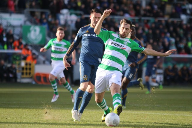 Shamrock Rovers v LA Galaxy 3