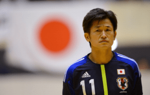 Kazuyoshi Miura continues to defy his age in the J.League