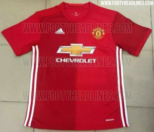 Pic: The leaked Manchester Utd kit for next season