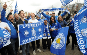 Leicester City and Wembley - reunited after sixteen years
