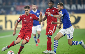 Plain sailing for Bayern Munich's Kovac as Schalke 04's Tedesco suffers