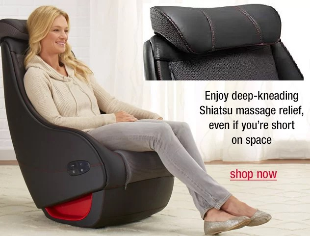 ReAct Shiatsu Brookstone Massage Chair