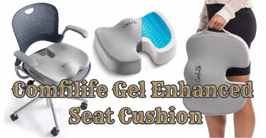 "Alt-""Comfilife Gel Enhanced Seat Cushion Review"""