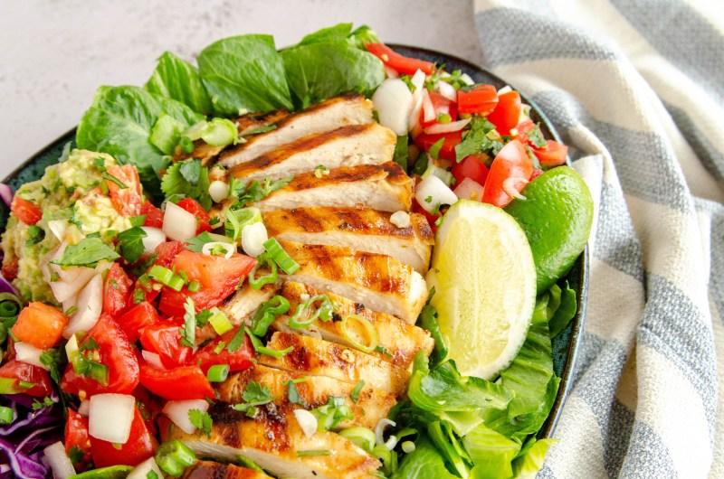 """""""Cafe Rio"""" chicken salad"""