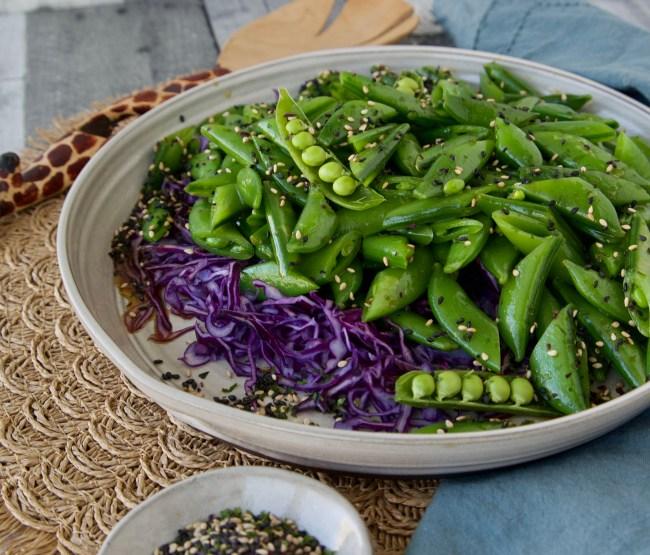snap pea salad
