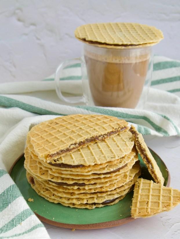paleo stroop waffles