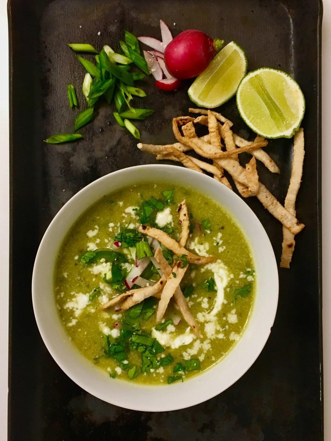 spicy chicken avocado soup