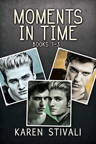 📚Review: Moments in Time (books 1-3) by Karen Stivali