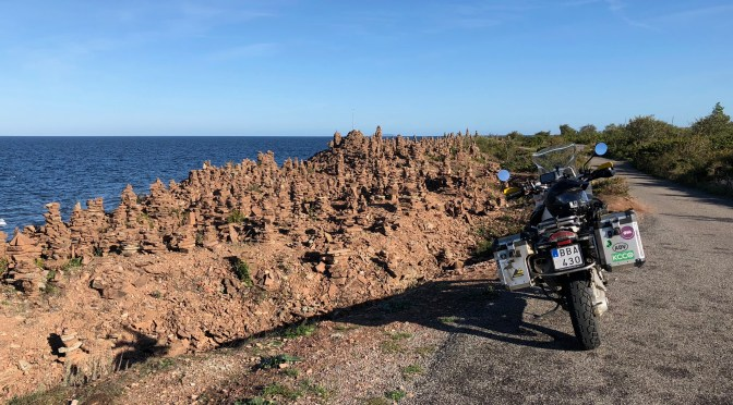 3-day ride to Öland; day one