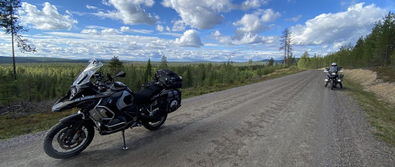 Swedish gravel road