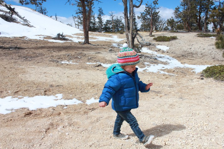 Tips for Backpacking with a Small Child