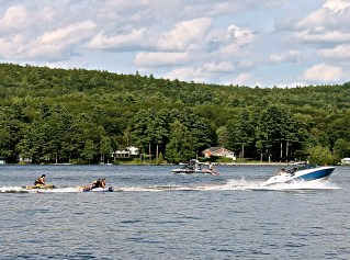 Tubing On Long Lake