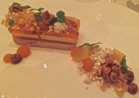 Marinated Goose Liver With Mirabelle, Macadamia Nuts And Brioche