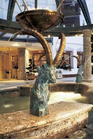 Mountain Goat Fountain