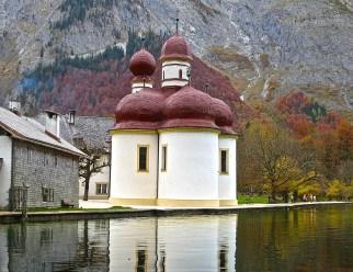 St Bartholomew's Church, Königssee, Berchtesgaden Nat'l Park