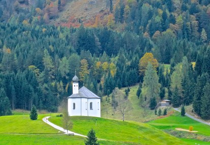 the St. Anna Chapel Seen From Our Balcony