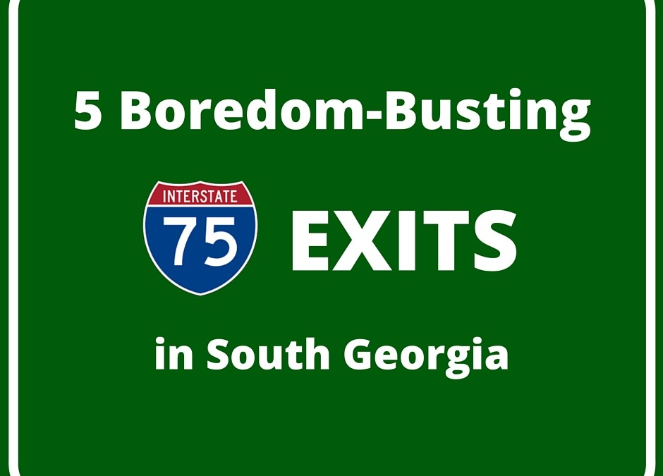 5 Boredom-Busting I-75 Exits in South Georgia