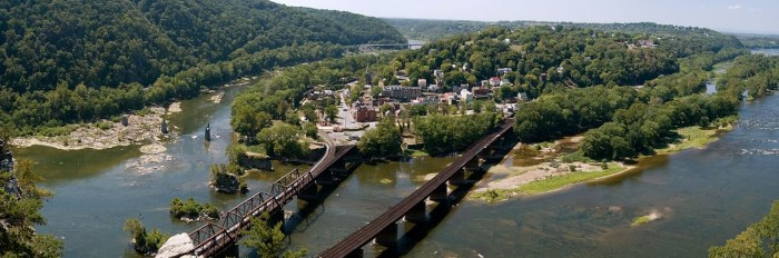 Harpers Ferry West Virginia Shenandoah Potomac River
