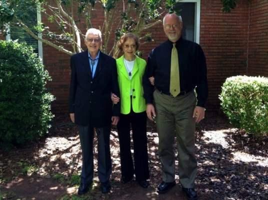 President Jimmy Carter Rosalynn Sunday School Maranatha Baptist Plains Georgia Howard Blount