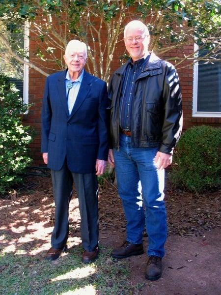 President Jimmy Carter Sunday School Maranatha Baptist Plains Georgia Howard Blount