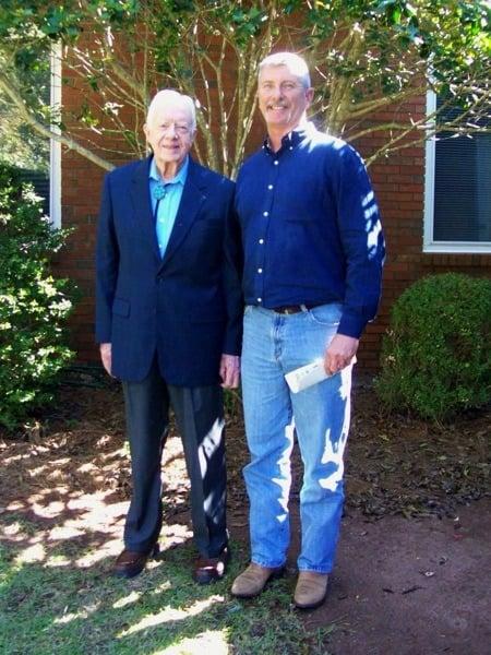President Jimmy Carter Sunday School Maranatha Baptist Plains Georgia Jerry Woods