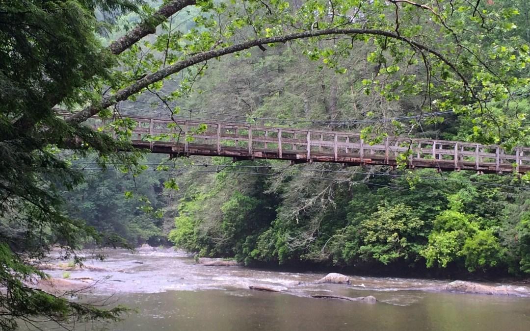 Toccoa River Swinging Bridge