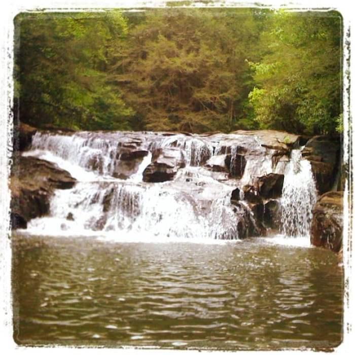 Dicks Creek Falls Georgia