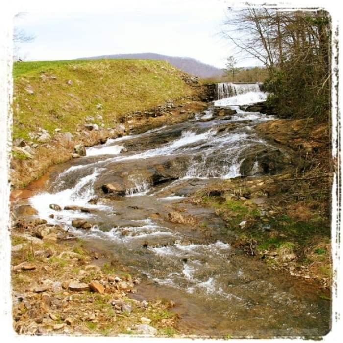 Lake Woody Falls Georgia