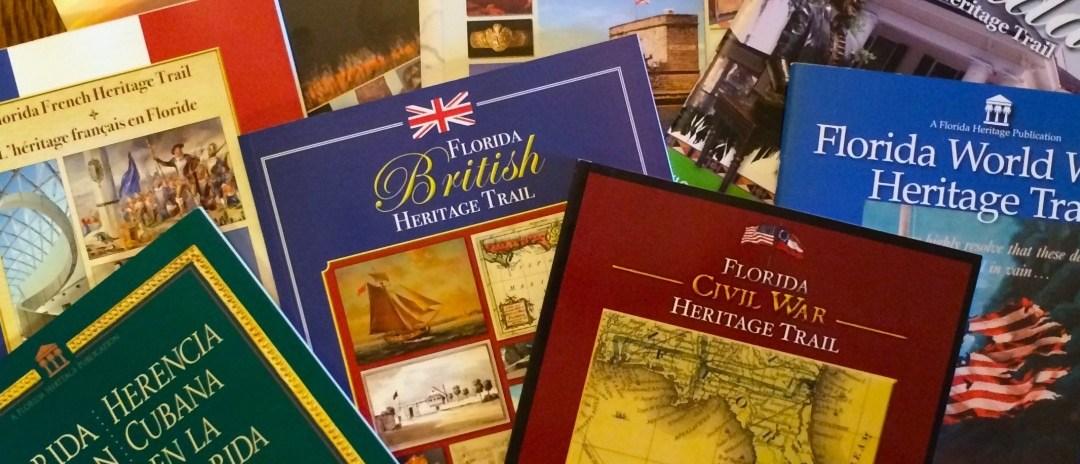 Florida Heritage Trail Guidebooks