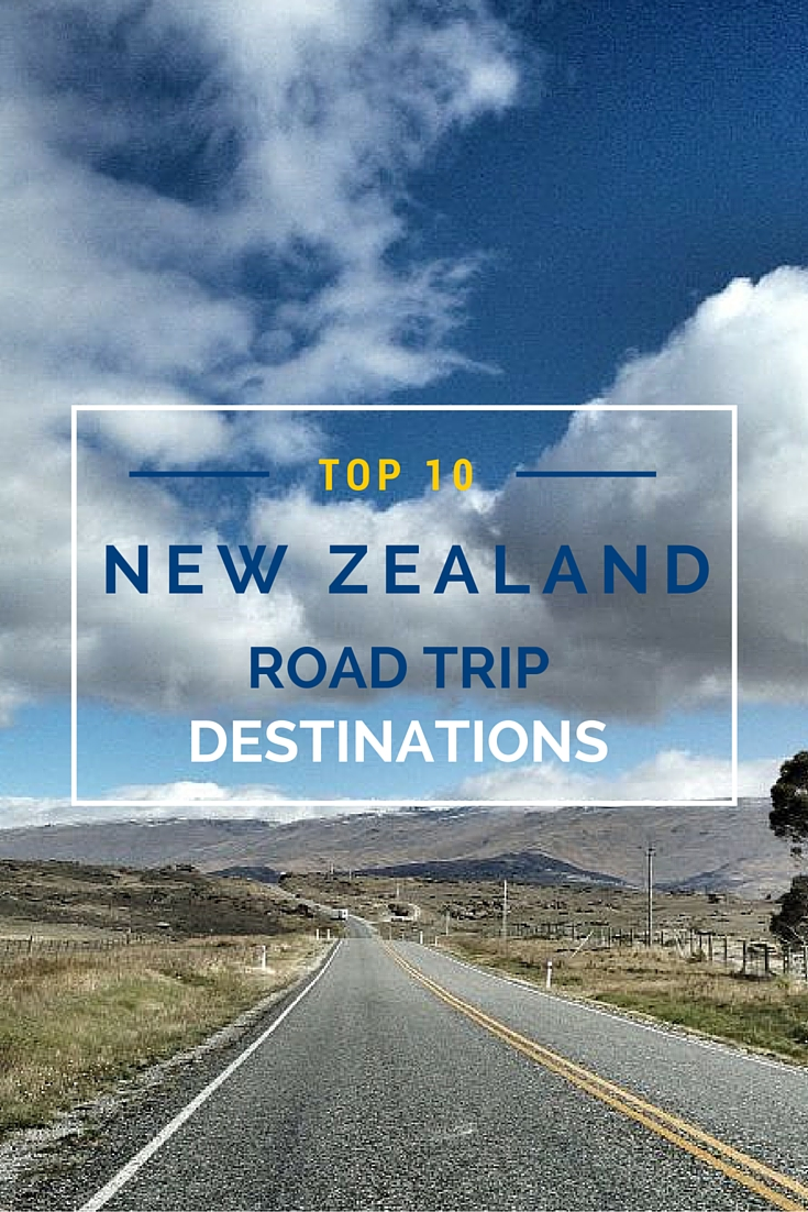 From Cape Reinga on the North Island to Curio Bay on the South Island, discover ten amazing New Zealand road trip destinations the whole family will enjoy. #travel #TBIN #NewZealand #roadtrip